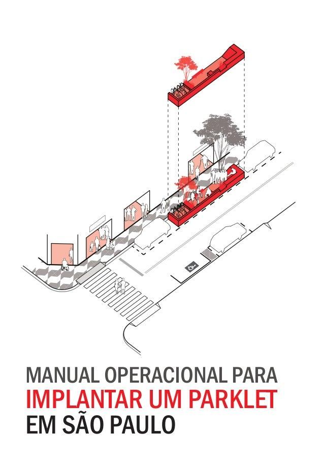 manual operacional para implantar um parklet em são paulo