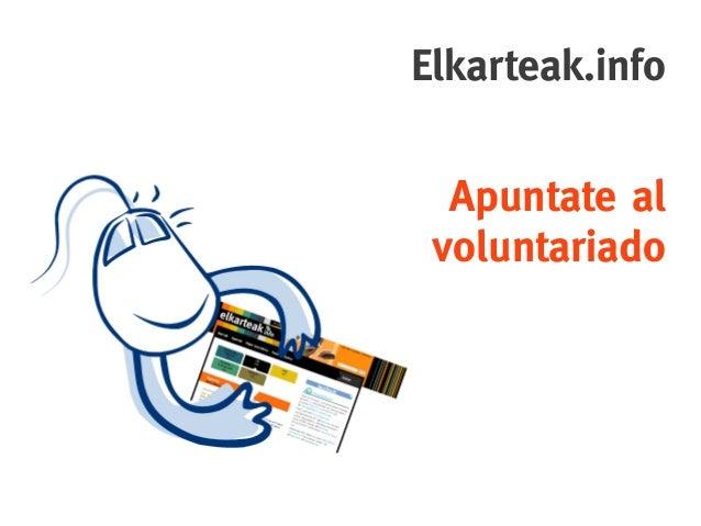 Elkarteak.info  Apuntateal voluntariado