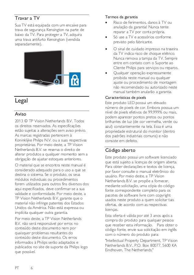 manual philips 42pfl5508g 78 dfu brp rh pt slideshare net manual da tv philips 43pfg5000/78 manual da tv philips 32 polegadas