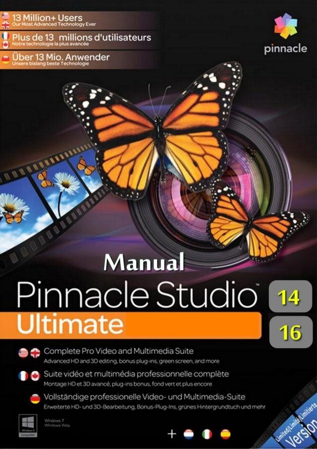 manual pinnacle studio ultimate rh pt slideshare net pinnacle studio 17 ultimate manual pdf pinnacle studio 17 ultimate cz manual