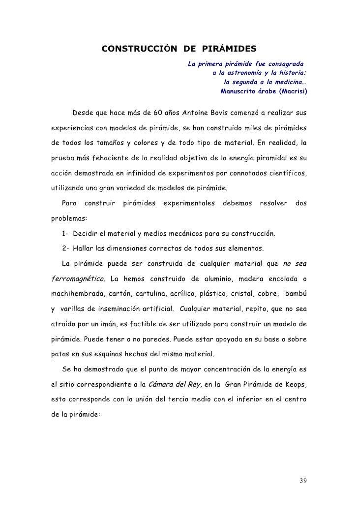 CONSTRUCCIÓN DE PIRÁMIDES                                          La primera pirámide fue consagrada                     ...