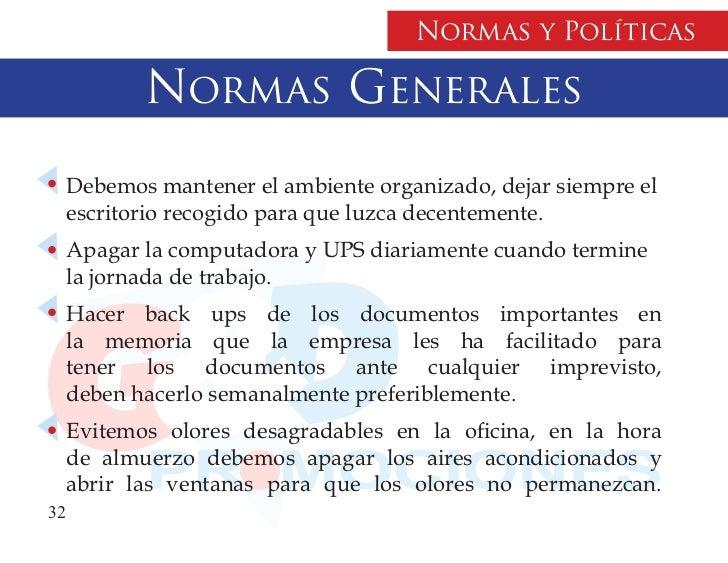 Manual Politicas