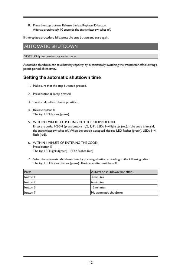 Manual ponte rolanteim pn tx103 a01 en 11 12 urtaz Choice Image