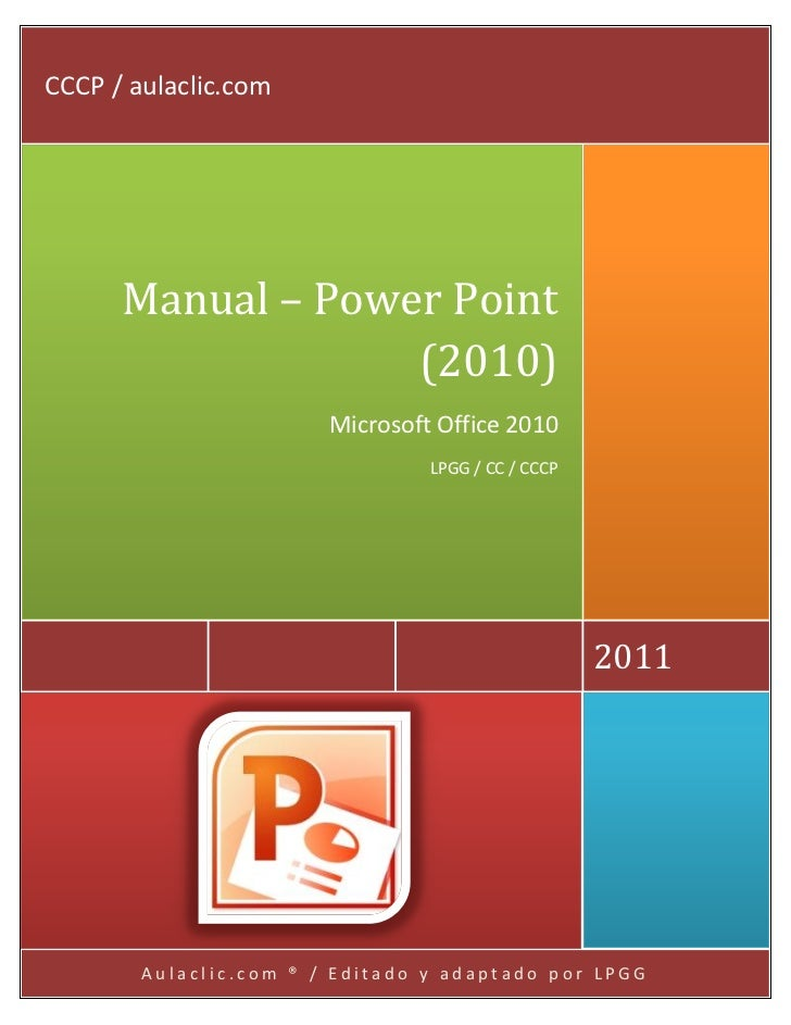 manual power point 2010