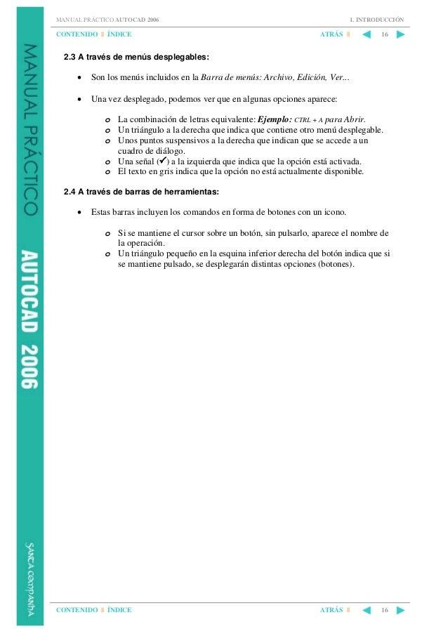 manual practico auto cad 2006 rh es slideshare net Gratis Invitaciones De Unicornio descargar manual de autocad 2006 gratis en español
