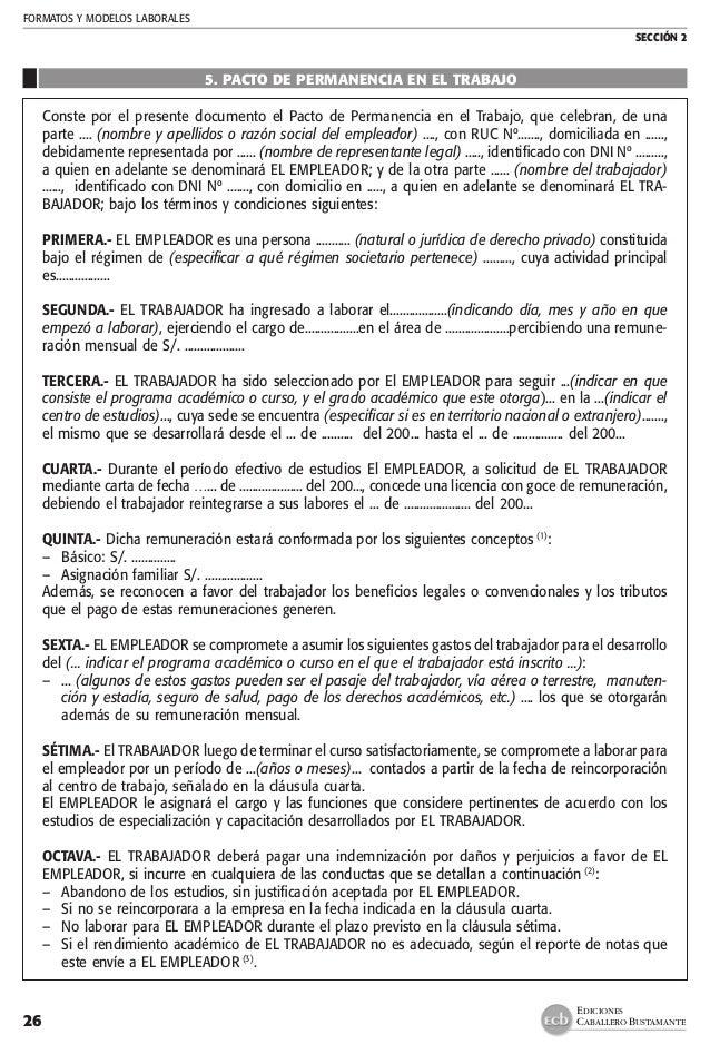 Manual Practico Contratos De Trabajo