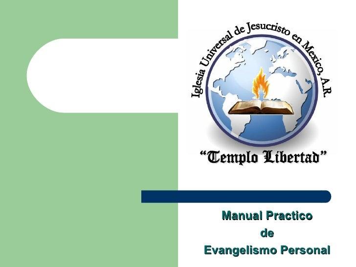 Manual Practico de Evangelismo Personal