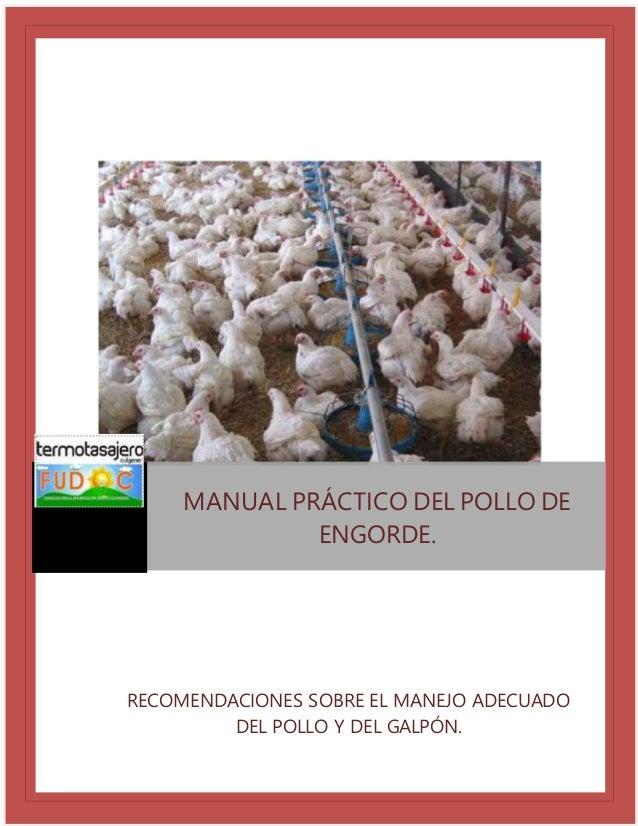 Manual de crianza de pollos cobb 500 broiler lidiycost.