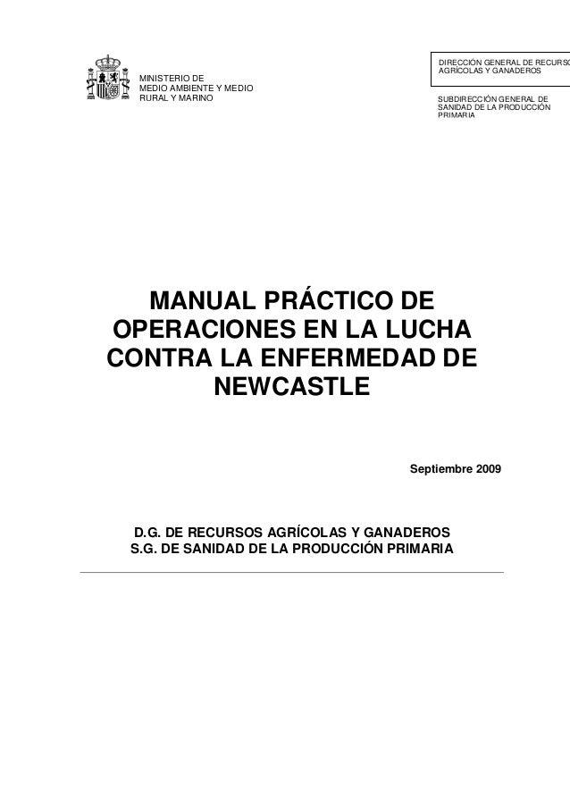 SUBDIRECCIÓN GENERAL DE SANIDAD DE LA PRODUCCIÓN PRIMARIA DIRECCIÓN GENERAL DE RECURSO AGRÍCOLAS Y GANADEROS MINISTERIO DE...