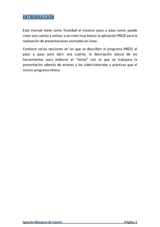MANUAL PREZI ESPAÑOL 2013 Slide 3