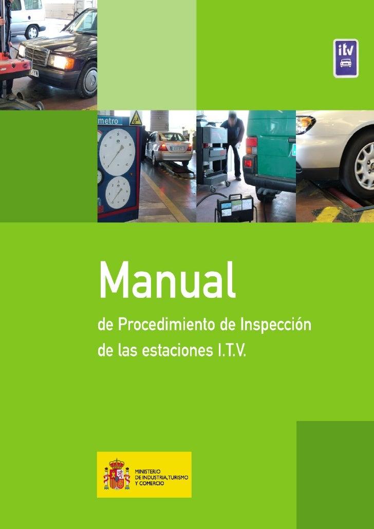 Manual Procedimiento Inspeccion Itv