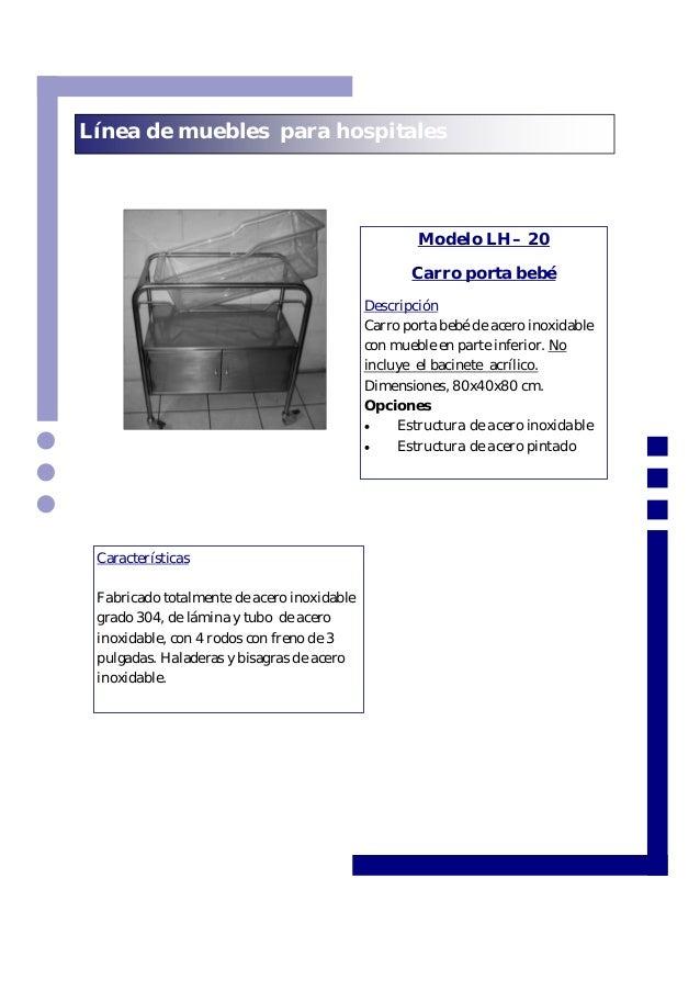 Muebles para hospital herometal el salvador - Muebles de metal ...