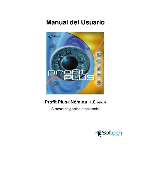 Manual de usuario profit plus administrativo & avisos y tareas pdf.