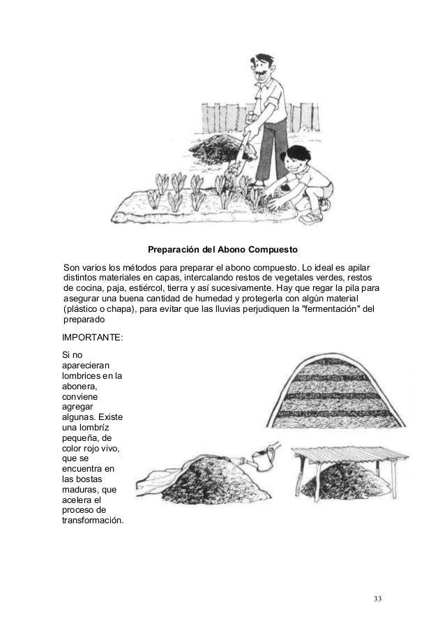 Manual pro huerta