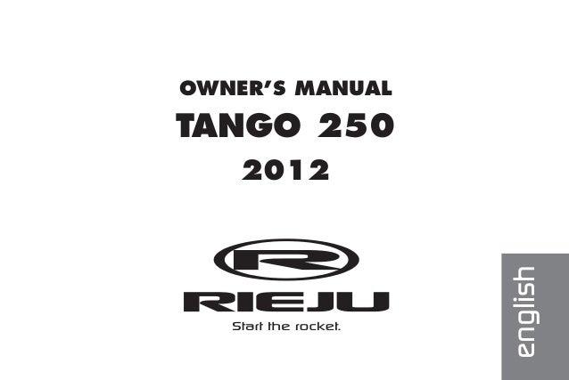 rieju tango 250