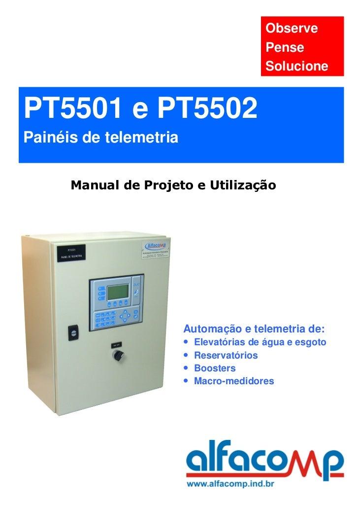 Observe                                         Pense                                         SolucionePT5501 e PT5502Pain...