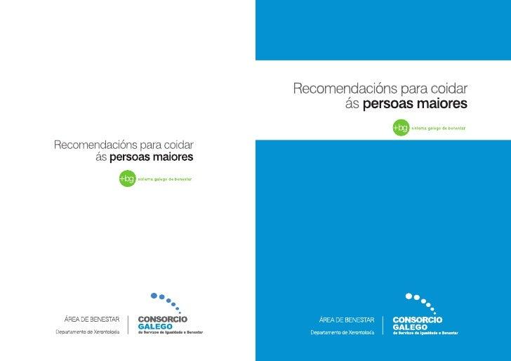 COLECCIÓN DE MANUAIS PARA A PRÁCTICA   COORDINADOR XERAL Andrés Vázquez Piñeiro.   Médico. Director da Área do benestar do...