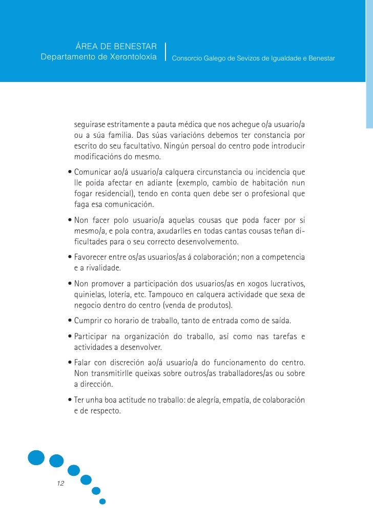 ÁREA DE BENESTAR Departamento de Xerontoloxía           Consorcio Galego de Sevizos de Igualdade e Benestar             II...