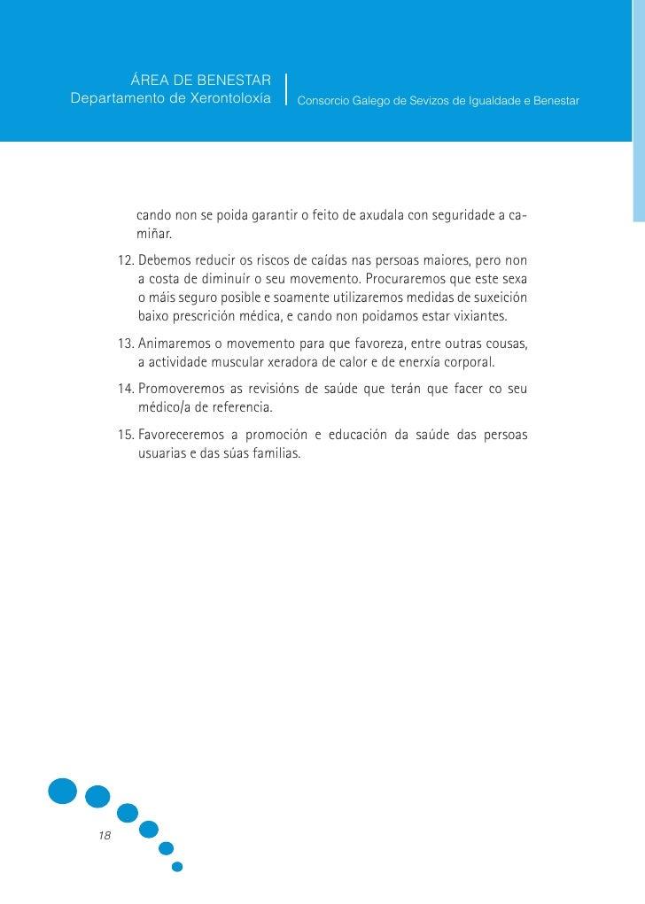 ÁREA DE BENESTAR Departamento de Xerontoloxía           Consorcio Galego de Sevizos de Igualdade e Benestar             17...