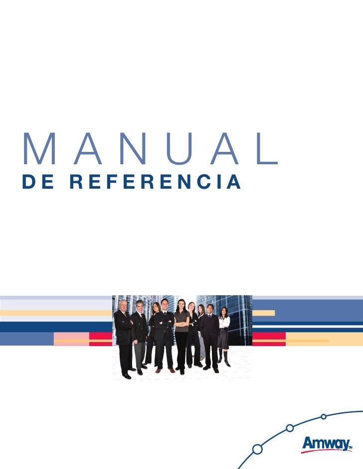 Manual de RefeRencia