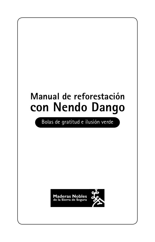 Manual reforestacion nendo dango