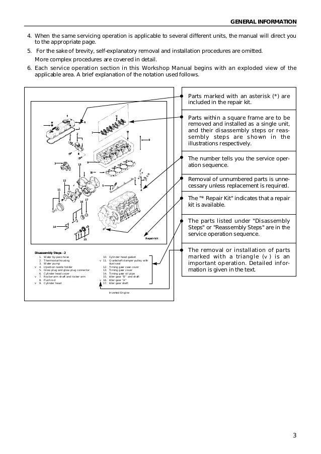 pedoman reparasi isuzu type 4ja1 4jb1 rh slideshare net isuzu 4ja1 4jh1-tc engine service manual isuzu 4ja1 engine service manual