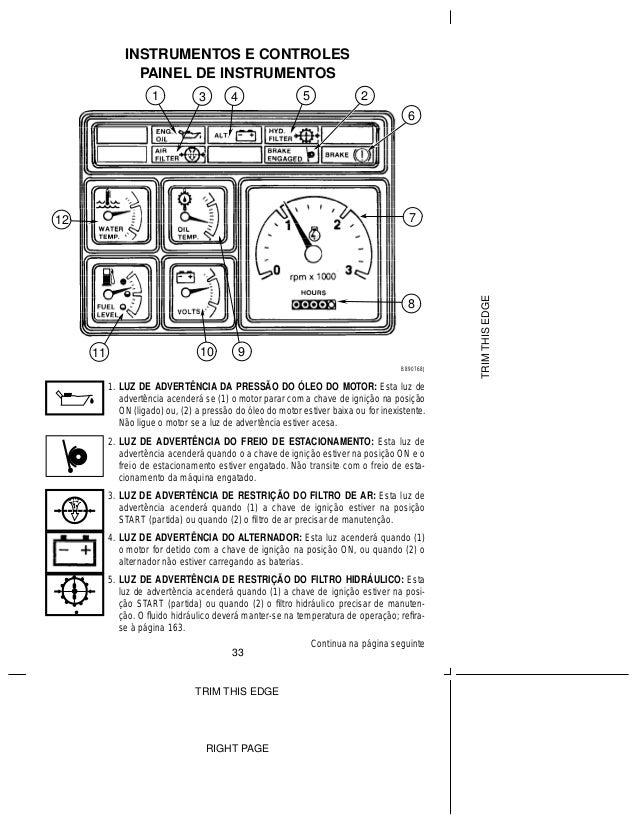 Manual retroescavadeira case 580 operador portugues