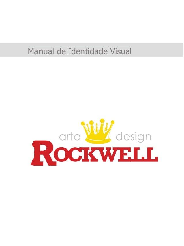 Manual de Identidade Visual arte design