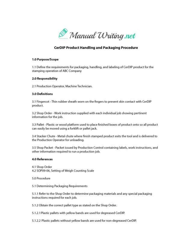 Manual Sample