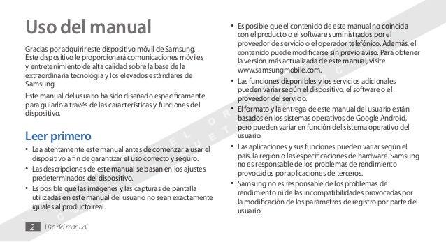 manual samsung galaxy ace rh es slideshare net Samsung Galaxy Ace Duos Samsung Galaxy Ace 2X