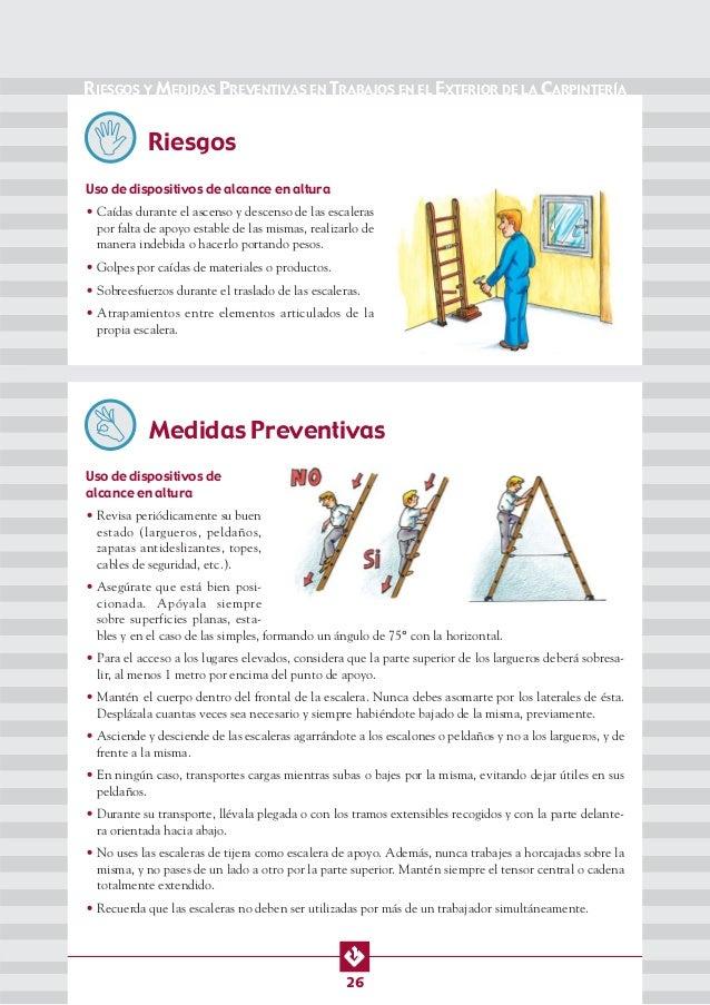 Manual seguridad salud carpinterias madera - Carpinterias de madera en madrid ...