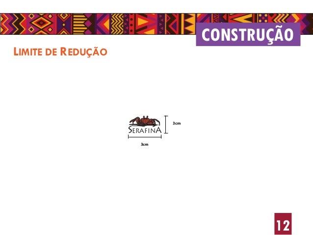 12 LIMITE DE REDUÇÃO CONSTRUÇÃO SERAFINA 3cm 3cm