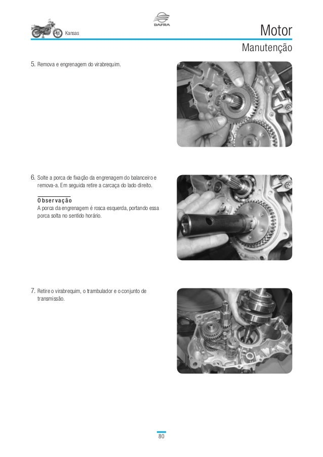 Manual serviã‡os kansas 150 v1