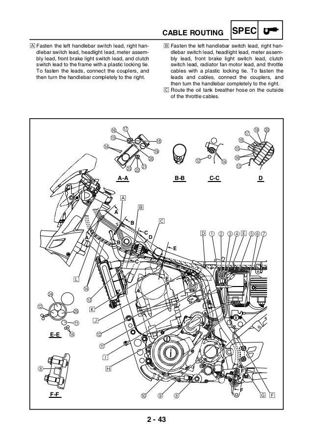Manual servi  o yamaha xt660 manual ingles