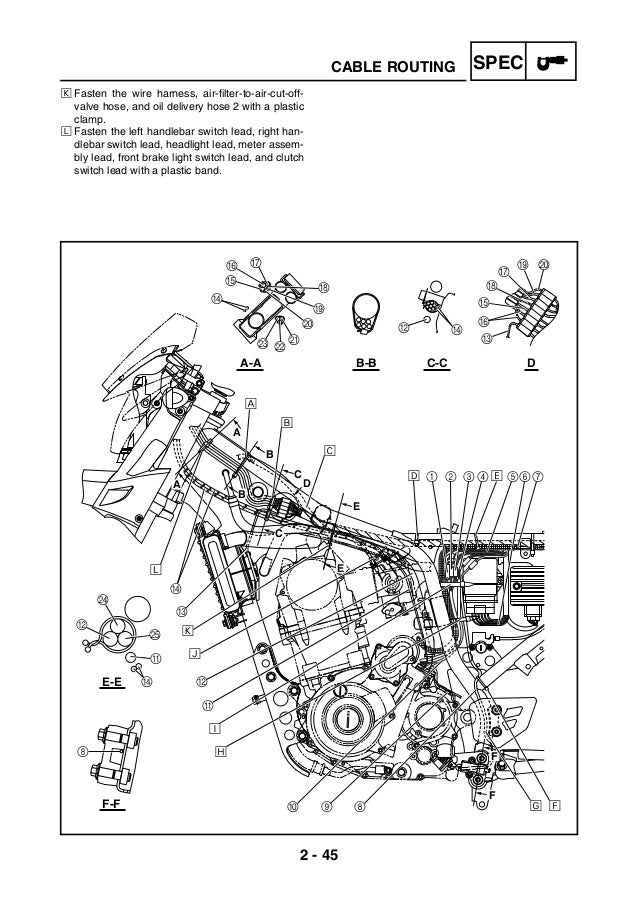 manual servi u00e7o yamaha xt660 manual ingles