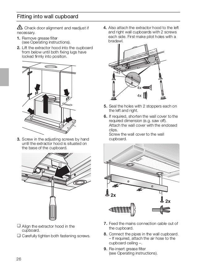 Manual siemens campana extraíble li46931
