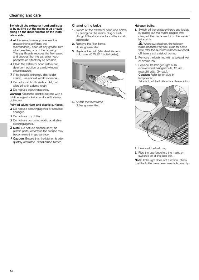 Manual siemens campana integrada lb55564