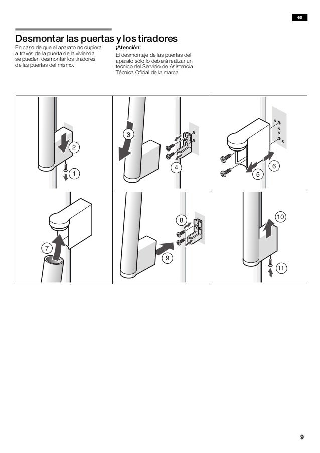 Manual siemens frigorífico americano ka62dp91