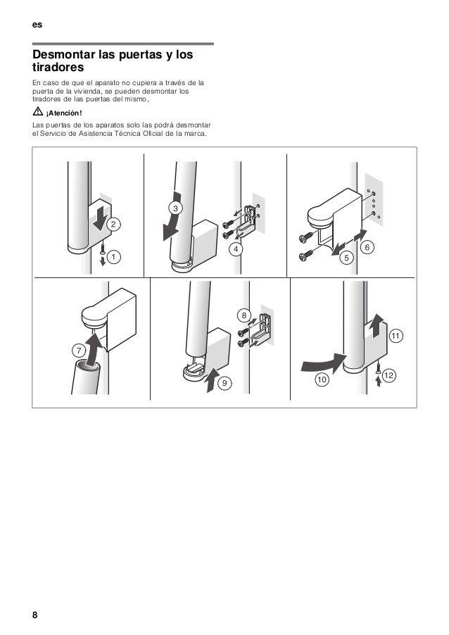 Manual siemens frigorífico americano ka62na75