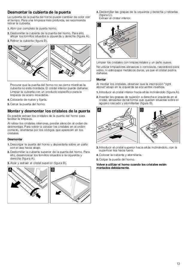 Manual siemens horno hb74ab520e
