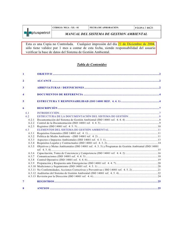 CÓDIGO: MGA - XX - 01                           FECHA DE APROBACIÓN:                                       PÁGINA 1 DE26  ...