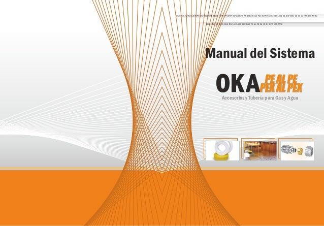 Manual del Sistema Accesorios y Tubería para Gas y Agua
