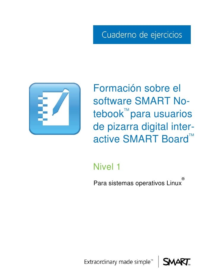 Formación sobre elsoftware SMART No-          TMtebook para usuariosde pizarra digital inter-                             ...