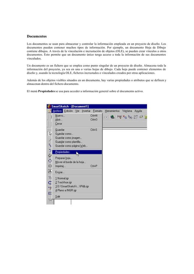 GeneralCuando un documento ha sido guardado, la carpeta General visualiza los atributos del documento como son elnombre, l...