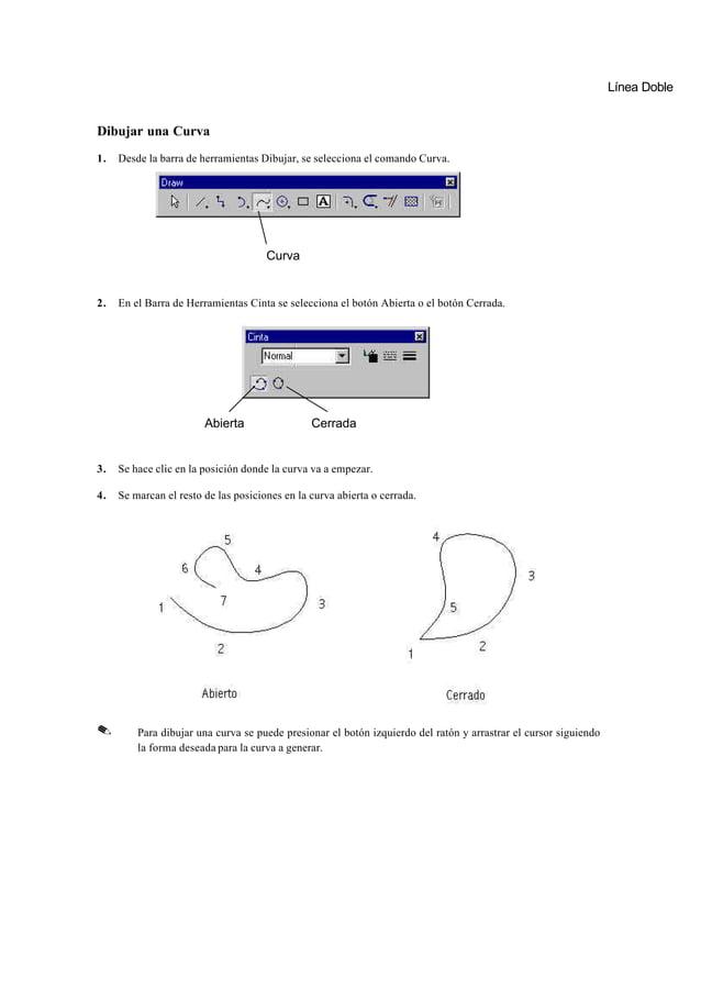 Dibujar con BocetoBoceto permite usar una única herramienta para crear líneas, arcos, rectángulos, o círculos.            ...