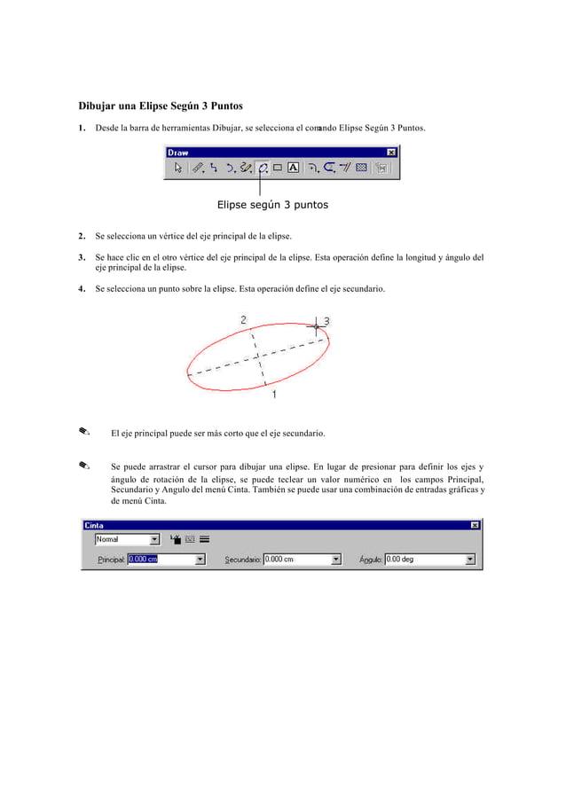 Dibujar un Rectángulo o un Cuadrado1.   Desde la barra de herramientas Dibujar, se selecciona el comando Rectángulo.      ...