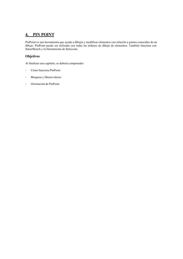 Arrancar PinPointPara arrancar PinPoint, se hace clic en la orden PinPoint del menú Herramientas o se selecciona laherrami...