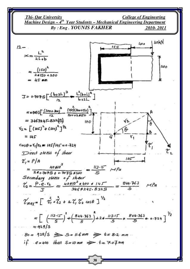 solutions for machine design by khurmi and gupta rh slideshare net Old Machinery Manuals Operators Manual