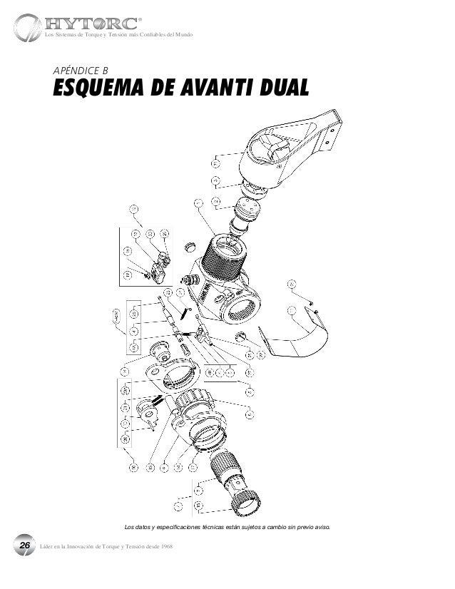 Manual spanish hytorc