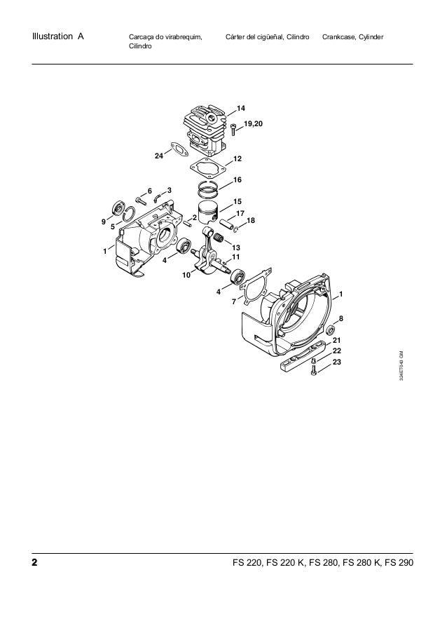 Manual sthil fs220 280-290